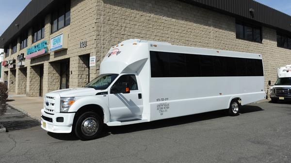26-28 Passenger Party Bus