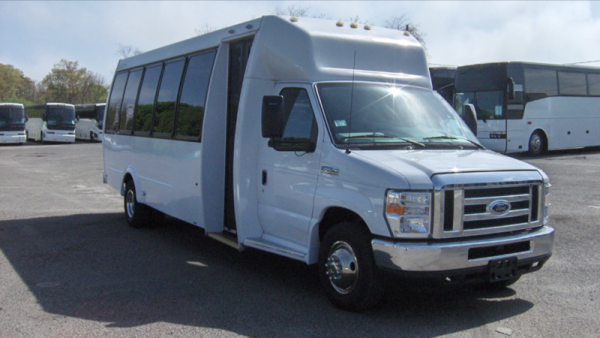 NJ Limo Buses for Late Summer Weddings