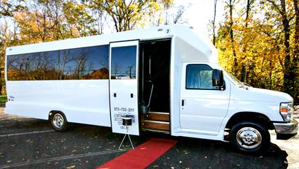 Clark New Jersey Party Bus