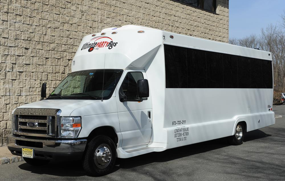 16-20 Passenger Party Bus – Limo-Bus